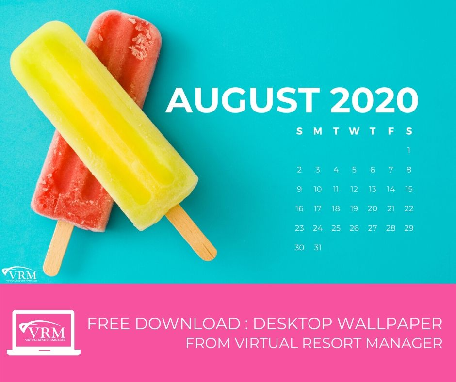 Free August Desktop Wallpaper Calendars